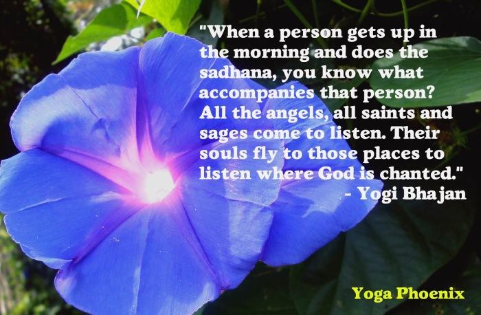 Morning Sadhana quote